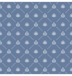 Ornamental royal wedding seamless background vector