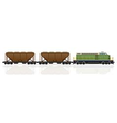 Railway train 26 vector