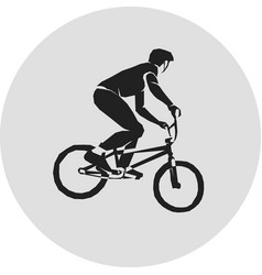 sport bicycle racer vector image