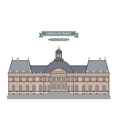 Vaux-le-vicomte france vector