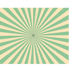 Modern stripe rays background with vintage vector