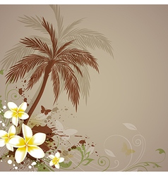 palm abstract vector image vector image