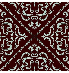 Damask seamless classic pattern vector