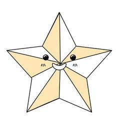 Christmas star symbol vector