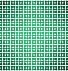 Green Gradient Dots Diamond Pattern Background vector image