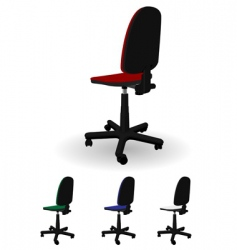 office armchair vector image vector image