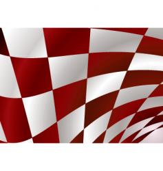 red checker vector image