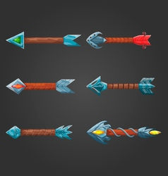 Set of fantastic arrows-2 vector