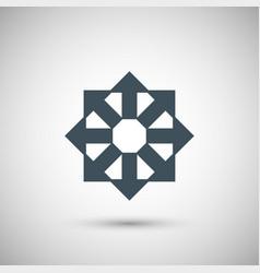 8 blue arrow vector image