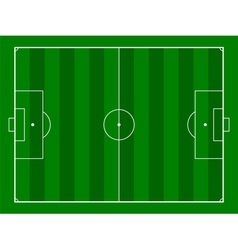 Footbal or soccer field background vector