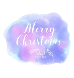 Merry Christmas WinterAbstract background vector image