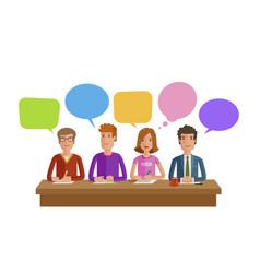 teamwork team work business education public vector image vector image
