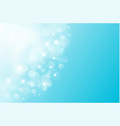 Luxury bright abstract summer sky background blue vector