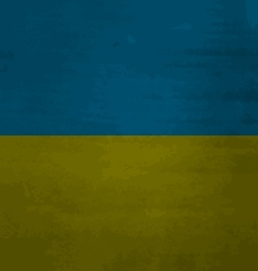 Grunge messy flag ukraine vector