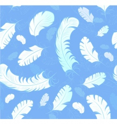 Abstract feathers background vector