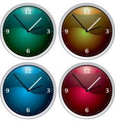 Clock variation vector