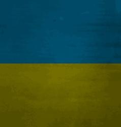 Grunge messy flag Ukraine vector image