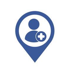 person avatar user icon vector image