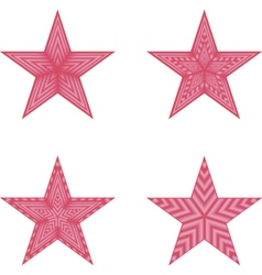 red star vs vector image