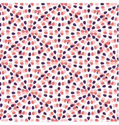 Creative seamless pattern with freehand creative vector