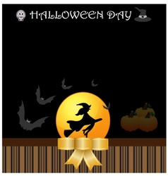Halloween day background vector