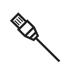 Internet Cable vector image