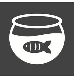 Fish in tank vector