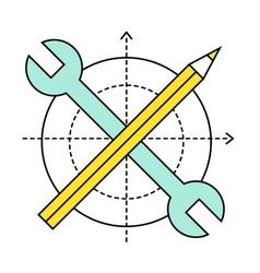 Flat design style modern vector image vector image