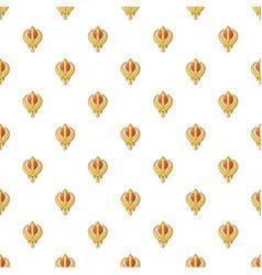 Khanda symbol sikhism religion pattern seamless vector