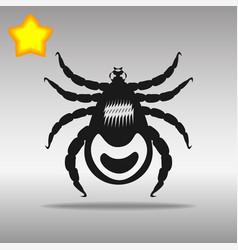 Mites black icon button logo symbol vector