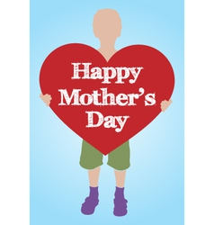 mothers day background vector image vector image