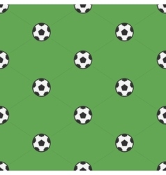 Soccer ball samples pattern vector