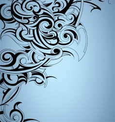 Tattoo print background vector