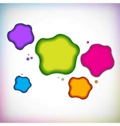 Background with blob vector