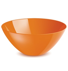 Bowl isolated vector