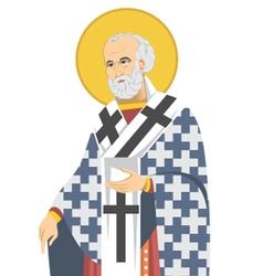 Saint nicholas vector