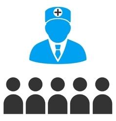 Doctor class icon vector