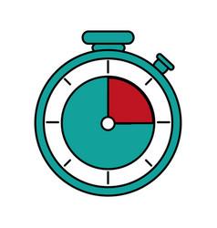 Isolated chronometer design vector