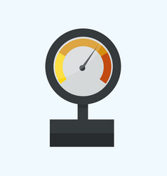 Pressure sensor manometer tool icon or vector