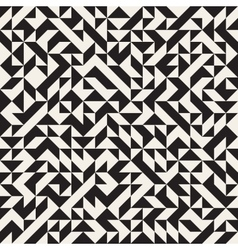 Seamless Jumble Triangles Geometric Pattern vector image vector image