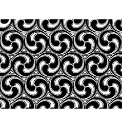 Seamless Monochrome Background vector image vector image
