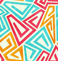 Funky maze seamless pattern vector