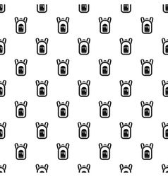 Backpack pattern simple style vector