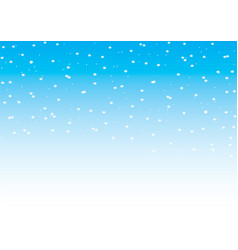 falling snow seamless pattern vector image vector image
