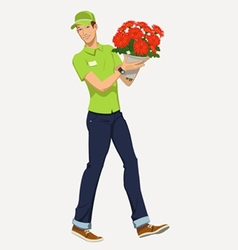 Flower delivery vector