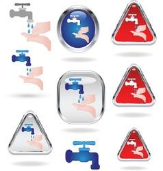 handwashing vector image