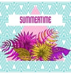 Holiday Beach Resort vector image