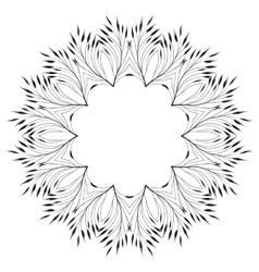 Leaves Ornament Pattern vector image