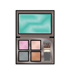 Makeup icon image vector