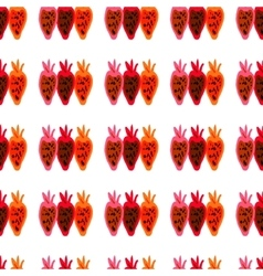 Seamless pattern of colored beet roots painted by vector